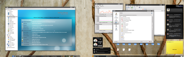 KDE 4.4 trunk screenshot