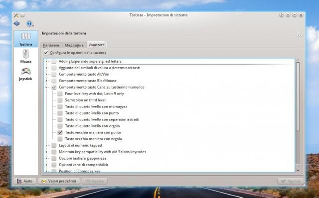 Tastierino numerico: punto o virgola? Come configurarlo su KDE