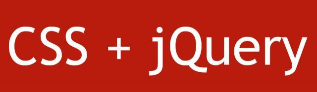 Cambiare CSS con jQuery
