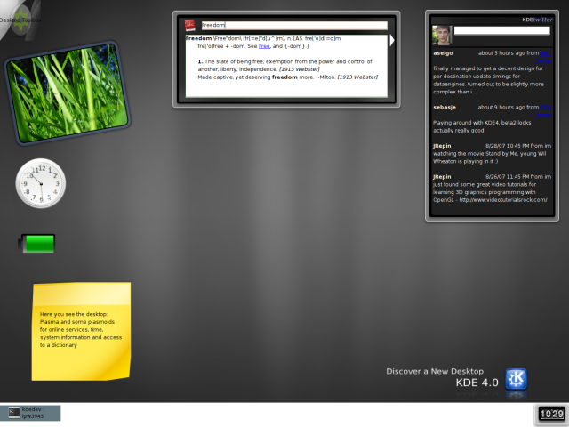 KDE 4.0 Beta 2
