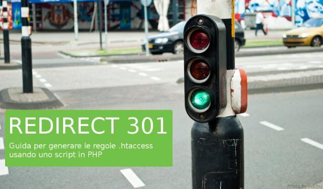 Script PHP per generare redirect 301 di htaccess