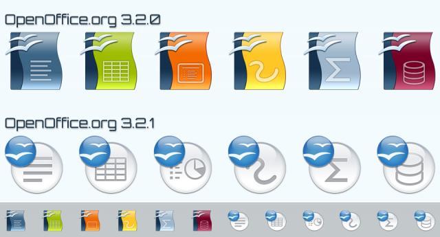 Usabilità icone OpenOffice 3.2.1