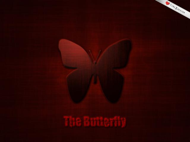 Wallpaper - The Butterfly, (1di4)