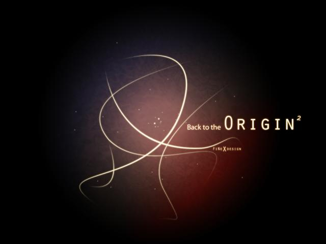 Wallpaper - Back To The Origin2, (2di4)
