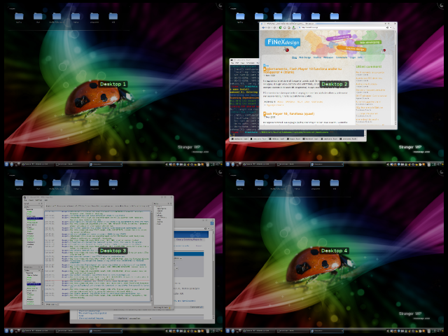 Screenshot 18/11/2008 - KDE 4 (2)