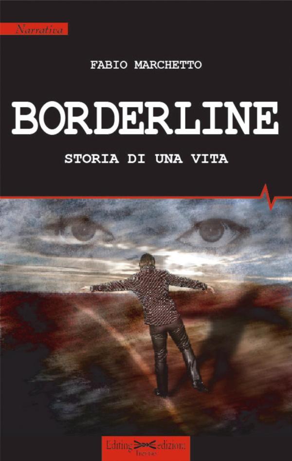"""Copertina libro """"Borderline, storia di una vita"""""""