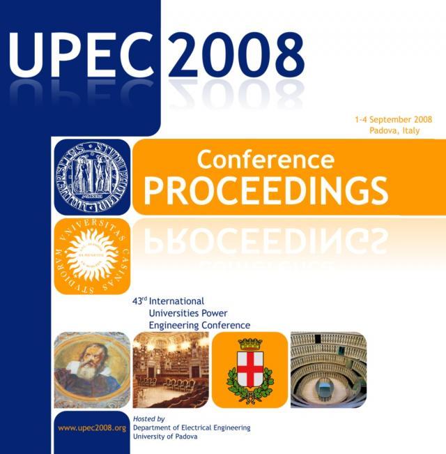 Copertina CD UPEC2008