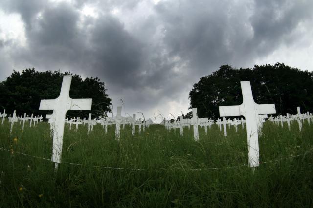 The Wandering Cemetery: Il cimitero