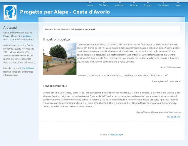 Progetto per Alépé