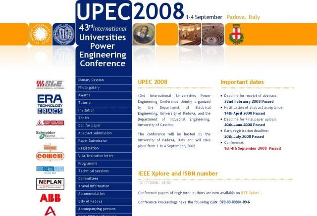 UPEC 2008