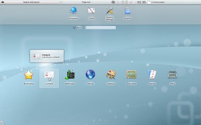 KDE 4.5.2, un passo in avanti