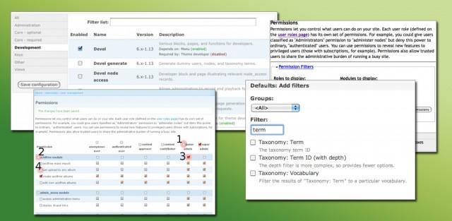 5 Moduli utili per l'amministrazione di Drupal