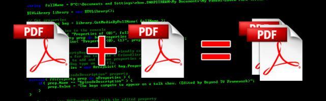 Unire PDF velocemente da GNU/Linux
