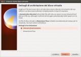 VirtualBox - Allocazione disco