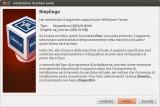 VirtualBox - Assistente primo avvio: riepilogo